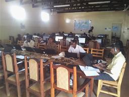 2014 Dzaleka classroom 1 Displays a larger version of this image in a new browser window