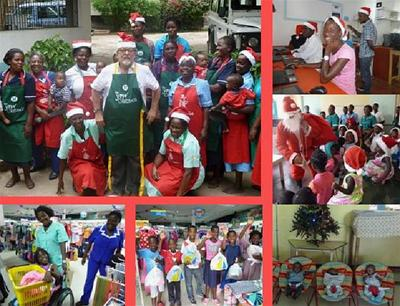 2014 - xmas at Open Arms Malawi This link opens in a new browser window