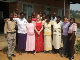 2007 IT team in Blantyre Displays a larger version of this image in a new browser window