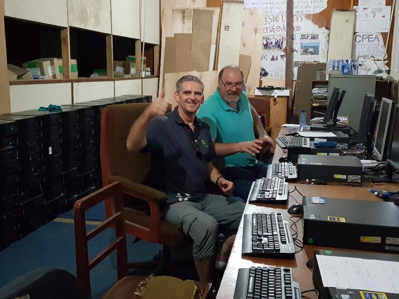 Robert and Ian