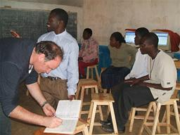 Dedza School Displays a larger version of this image in a new browser window