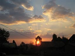 Dedza sunset Displays a larger version of this image in a new browser window