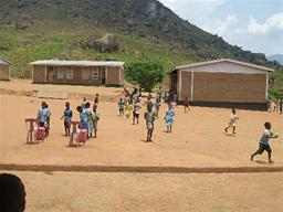 Mary's Meals School Displays a larger version of this image in a new browser window