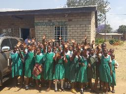 Ndirande school girls Displays a larger version of this image in a new browser window