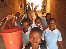 Dedza kids at Mua school for deaf Displays a larger version of this image in a new browser window