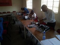 IT Tech Training at Bangwe Youth Centre Displays a larger version of this image in a new browser window