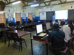 Limbe TDC Windows and Office training Displays a larger version of this image in a new browser window