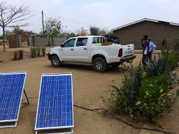 Golomoti CDSS solar panels Displays a larger version of this image in a new browser window